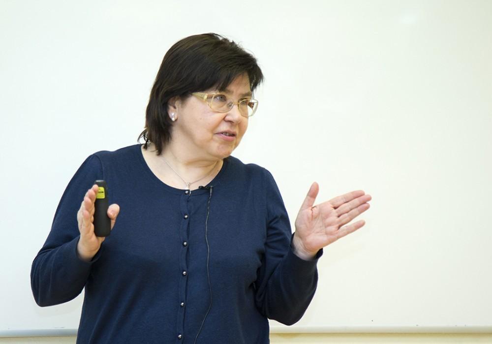 Лекция Татьяны Малевой