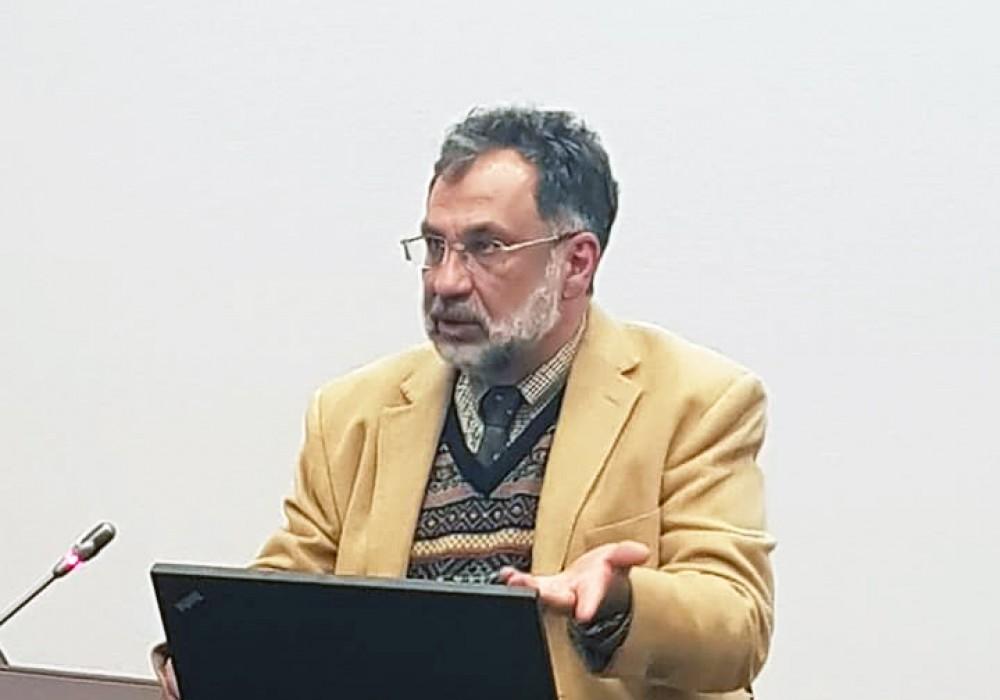 В Академии выступил известный социолог Георгий Дерлугьян